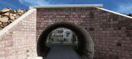 隧道加固钢波纹板 金属波纹涵管 钢制波纹管涵