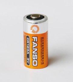 **锰一次电池CR123A 数码电子智能仪表用电池