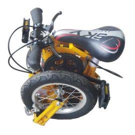 """12""""多色折叠自行车(世界上**一款折叠起来尺寸**的车)"""