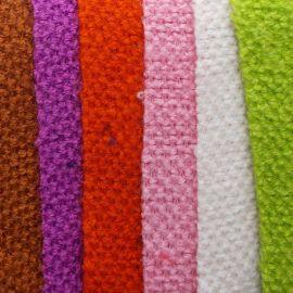 现货供应 仿织毛衫面料 仿羊绒衫面料 格子绒 时尚针织面料