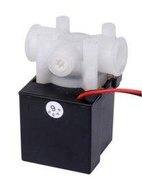 废水比组合阀RO配件净水器24V18S快接纯水机自动冲洗电磁阀300CC