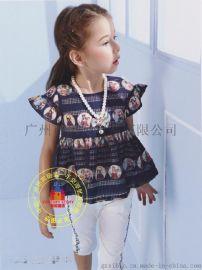 【巴拉小吚】一线品牌童装 夏装连衣裙 折扣尾货批发