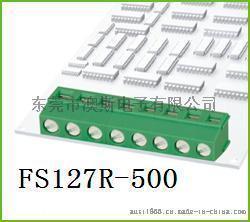 90度弯针FS127R-5.0绿色接线柱环保