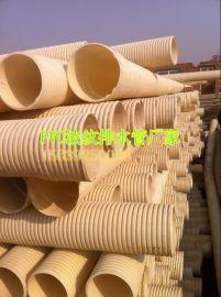 郑州PVC双壁波纹管销量大厂家工程报价