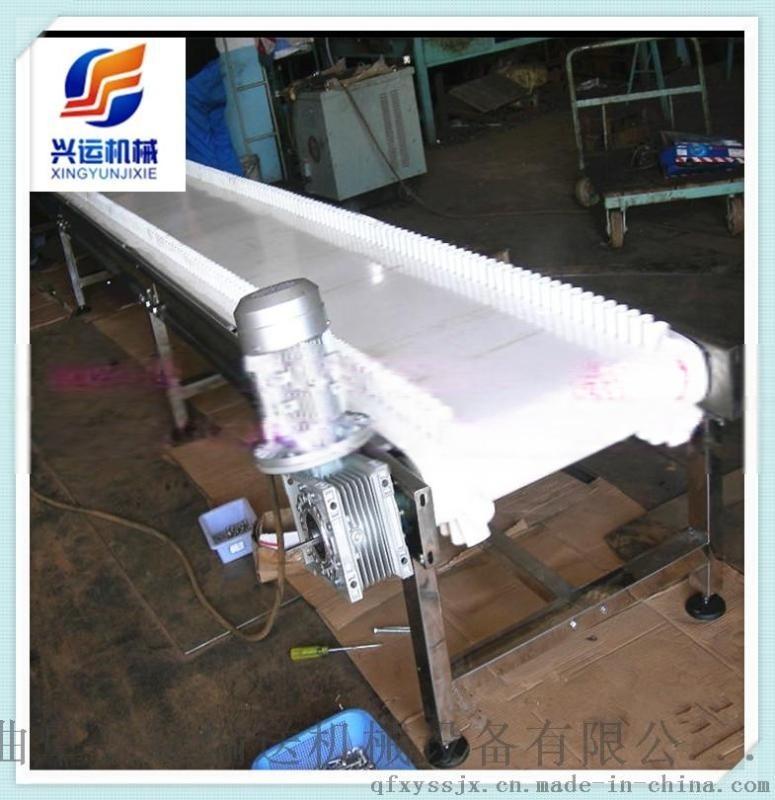 優質供應帶式爬坡皮帶輸送機 流水線工作臺(圖)L8