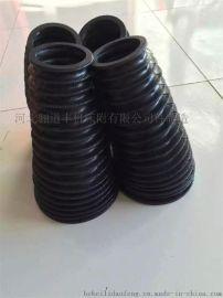 锥形橡胶圆筒式丝杠、油缸防护罩 防尘罩保护套(机床附件生产厂家)