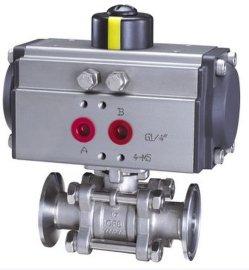 阀天Q681F气动卫生级球阀
