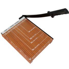 得力8004切纸机 得力A4 木质切纸刀裁纸刀切纸机裁纸机300*250mm
