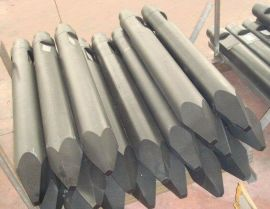 厂家直销高品质破碎锤钻杆 挖掘机钎杆 高强度耐磨液压锤钢钎机芯