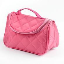 【粉红菱格】时尚化妆包