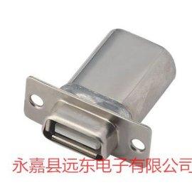 D型USB接口滤波连接器