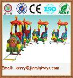 供應兒童軌道小火車 小火車遊樂設備 廣州小火車廠家 JMQ-P180A