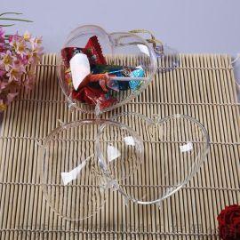 【直销批发】SH-8514心形硬塑料盒_礼品糖果包装盒_透明造型盒