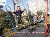 百美遊樂鋼架兒童蹦極質量有保障