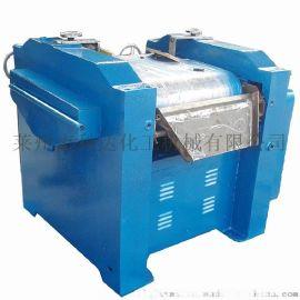 重型树脂铅芯辊压机 卧式三辊研磨机 研磨膏状研磨机