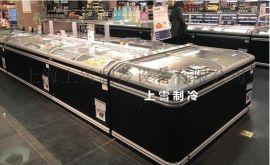 泉州超市冷冻展示柜 冷冻食品组合岛柜