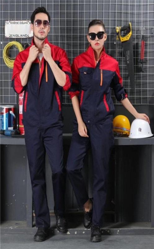 上海红万夏季工作服定制   工作服生产