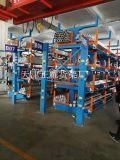 工程案例現場北京鋼材貨架實地考察鋼材存放新型方式