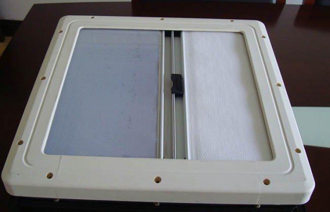房车天窗换气窗房车改装件遮阳防蚊虫