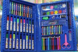 [自产自销]绘画礼盒套装 儿童文具 涂鸦套装 水彩笔套装 约86件套