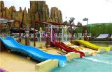 供应水上乐园设备水滑梯设备儿童组合滑梯