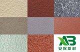 安保新材真石漆保温装饰一体化板,复合节能保温材料,外墙保温真石漆
