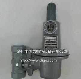 FISHER 627-496中压减压阀,LOC870液化气减压阀,DN25管道调压阀