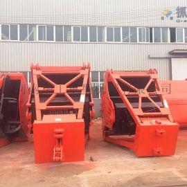 2.5立方的四绳抓斗 垃圾场用抓斗 配用5吨起重机
