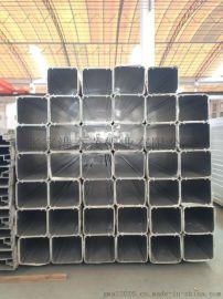 工业铝型材 铝合金方管型材 榻榻米升降机套管铝合金