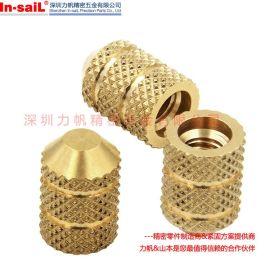 力帆注塑螺母,不锈钢注塑嵌件,拉花不锈钢镶嵌螺母