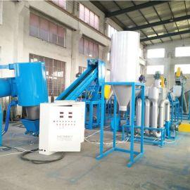 薄膜脱水机 塑料清洗线直销 塑料回收设备厂家