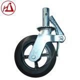 鸿建脚手架橡胶轮 万向轮 6寸8寸鹰架轮 带刹车装置脚轮 厂家直销