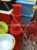 印花垃圾桶模具 双层垃圾桶模具