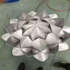 雕刻衝孔鋁單板造型 氟碳雙曲扭曲鋁單板裝飾