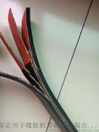 耐磨橡胶输送带, 耐高温防滑环形输送带