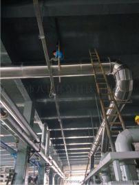 山水染布厂除尘白 铁风管 全不锈钢通风管道
