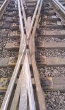 60鋼軌9號合金鋼組合轍叉