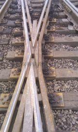 60钢轨9号合金钢组合辙叉