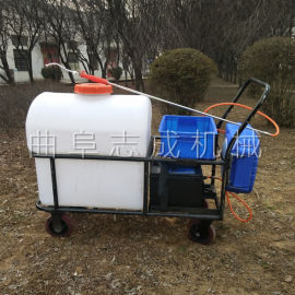 志成电动推车打药机自动缠管喷药机大棚杀虫喷雾器