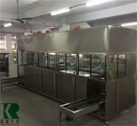 KR-18-06TQJ六槽式全自动环保型碳氢清洗机