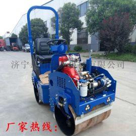 一吨座驾式压路机柴油小型手扶振动压路机