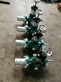 大流量气动砂阀,喷砂机耐磨砂阀,气缸式耐磨砂阀