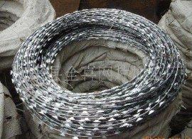 不锈钢拧编刺绳 PVC绿色刺绳 镀锌刺网