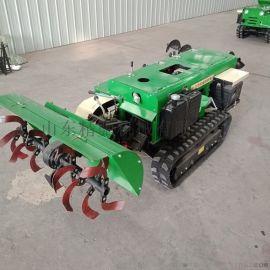 山东多功能田园管理机 自走式旋耕回填机