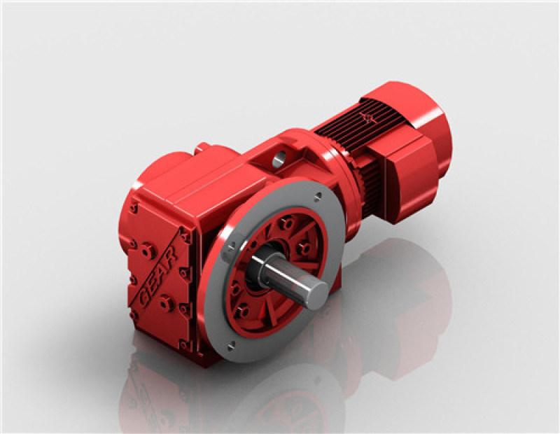 空心轴齿轮减速机|迈传减速机|K螺旋锥齿轮减速机