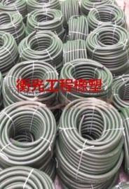供应成都8*12隧道橡胶注浆管/预埋注浆管衡光出品