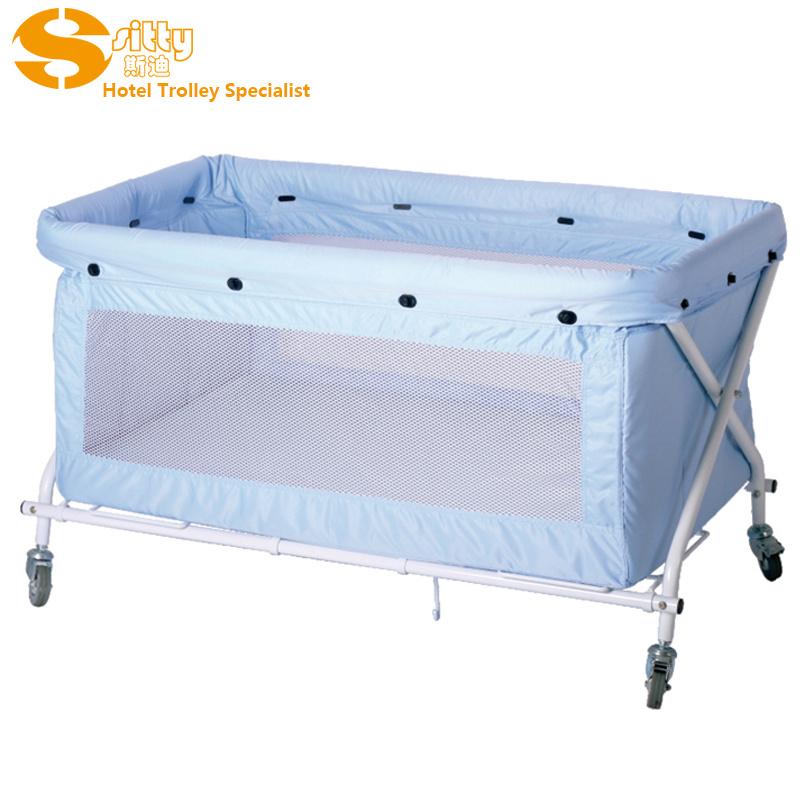 折叠婴儿床,铁制折叠婴儿床,婴儿床