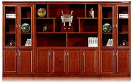 油漆木皮书柜文件柜1832系列 绿色环保健康家具