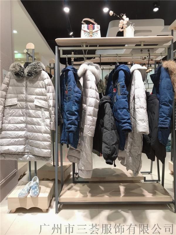 上海欧美风女装尾货衣架品牌折扣货源,独立女性最爱