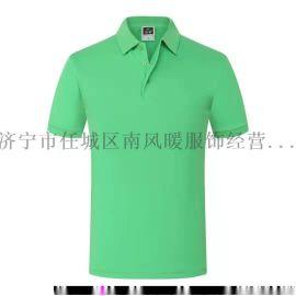 夏季工作衣服定制t恤短袖純棉定做男女廣告文化POLO衫印字圖log